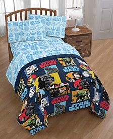 Star Wars Galactic Grid Twin 4-Pc. Bed in a Bag