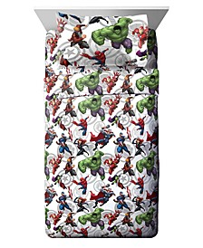 Marvel 3-Pc. Twin Sheet Set