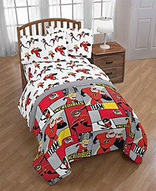The Incredibles 2 Super Family Twin Comforter