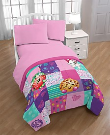 Shopkins Fun Twin Quilt with Sham