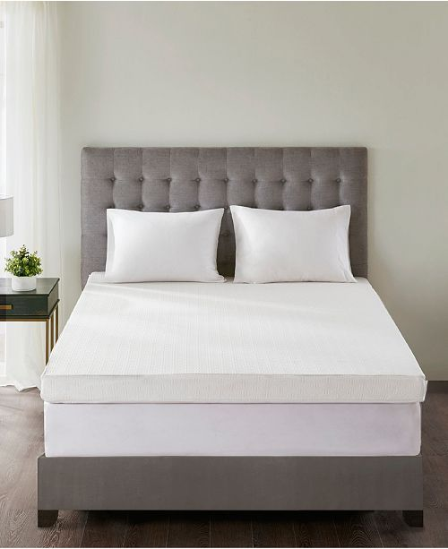 "Sleep Philosophy Flexapedic by 3M Moisture-Management 4"" Twin Memory Foam Mattress Topper"