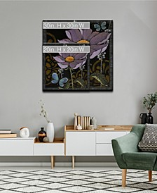 Flora Petals I Floral Canvas Wall Art Collection