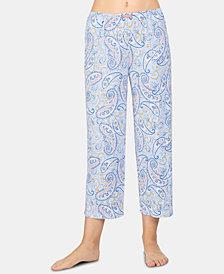Ellen Tracy Printed Knit Pajama Pants