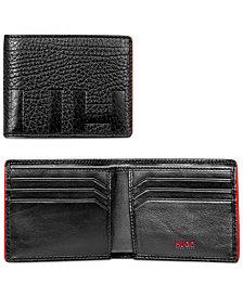 BOSS Men's Victorian Logo Leather Wallet