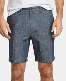 "Nautica Men's Big & Tall 8"" Chambray Shorts"