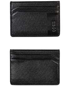BOSS Men's Subway Leather Card Case