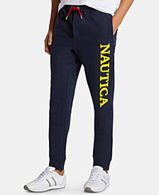 Nautica Men's Blue Sail Classic-Fit Logo Joggers, Created for Macy's
