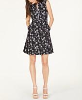 e3793e28efb585 Nanette Lepore Printed A-Line Dress, Created for Macy's