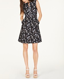 Nanette Lepore Printed A-Line Dress, Created for Macy's