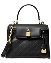 e7115a8c82 MICHAEL Michael Kors Gramercy Chain Embossed Leather Top Handle Satchel