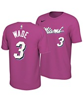 69aad50c Nike Men's Dwyane Wade Miami Heat Earned Edition Player T-Shirt