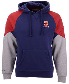 Mitchell & Ness Men's Los Angeles Angels Trading Block Hoodie