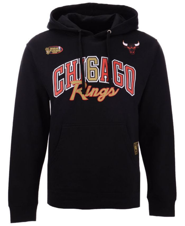 Mitchell & Ness Men's Chicago Bulls Chicago 6 Ring Collection Hoodie & Reviews - Sports Fan Shop By Lids - Men - Macy's