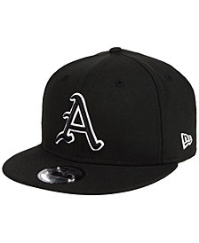 New Era Arkansas Razorbacks Black White Fashion 9FIFTY Snapback Cap