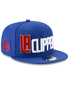 New Era Los Angeles Clippers Enamel Script 9FIFTY Snapback Cap