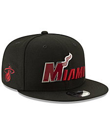 New Era Miami Heat Enamel Script 9FIFTY Snapback Cap