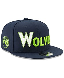 New Era Minnesota Timberwolves Enamel Script 9FIFTY Snapback Cap
