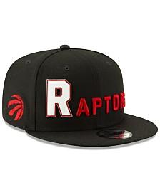 4ed4b0ca6e6 New Era Toronto Raptors Enamel Script 9FIFTY Snapback Cap