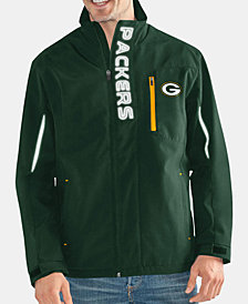 G-III Sports Men's Green Bay Packers Energy Player Front Zip Jacket