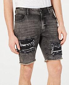 American Rag Men's Slim-Fit Moto Shorts
