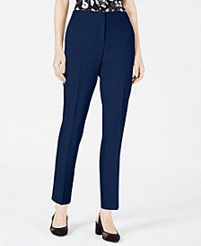 Bi-Stretch Straight-Leg Pants, Created for Macy's