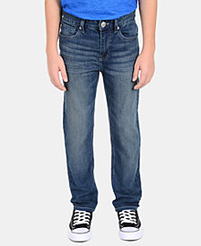 Calvin Klein Big Boys Skinny-Fit Denim Jeans