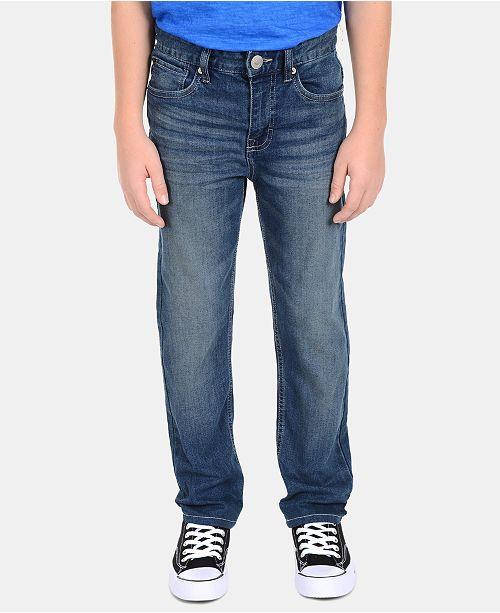 Calvin Klein Big Boys Skinny-Fit Denim Jeans