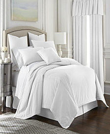 Cambric White Coverlet Set-Queen