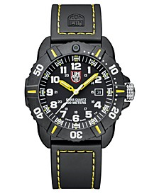Men's 3025 Coronado Series Black and Yellow Watch