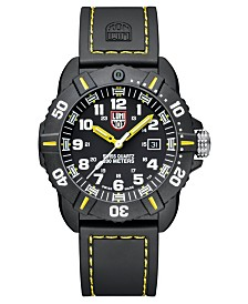 Luminox Men's 3025 Coronado Series Black and Yellow Watch