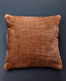 Lilac Fox Faux Fur Pillow