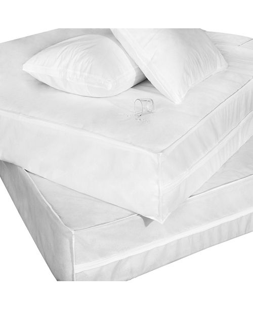 Epoch Hometex inc Cottonloft Permashield Extra Strong Complete Bed Protector Set