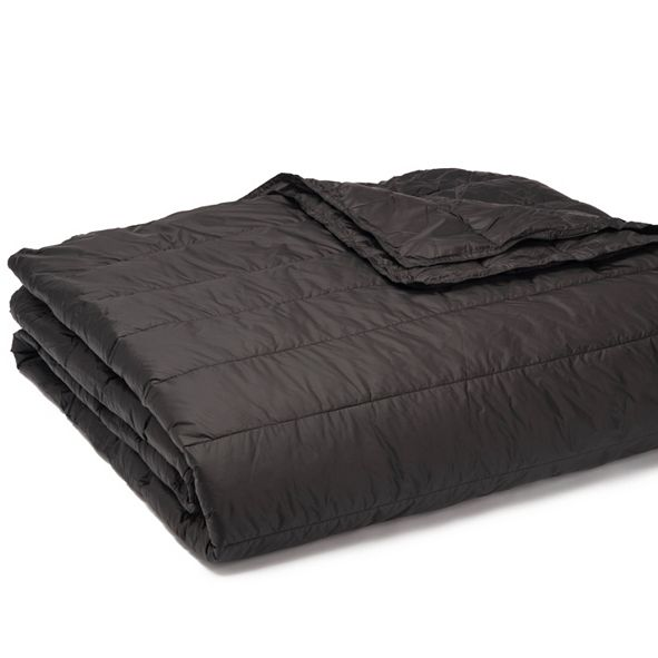 Epoch Hometex inc PUFF Packable Down Alternative Indoor/Outdoor Water Resistant Blanket with Extra Strong Nylon Cover