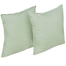 Stayclean 2 Pack Decorative Pillow Set with Water and Stain Resistance