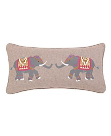 Home Tangier Elephant Pillow
