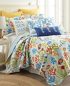 Home Portofino Full/Queen Quilt Set