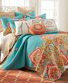 Levtex Home Mariska King Quilt Set with Standard Shams