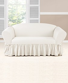 Sure Fit Essential Twill Slipcover Collection