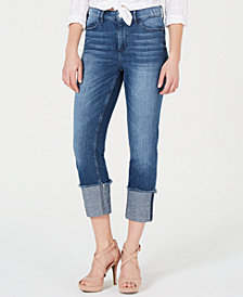 GUESS 1981 Cuffed Skinny Jeans
