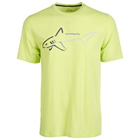 Deals on Attack Life by Greg Norman Mens Shark Logo T-Shirt