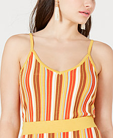 Lucy Paris Katrina Rainbow Knit Top
