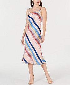 Lucy Paris Sienna Rainbow Slip Dress