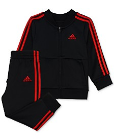 adidas Baby Boys 2-Pc. Home Run Jacket & Pants Set