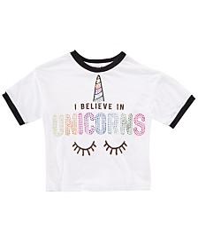 Beautees Big Girls Unicorns T-Shirt