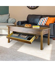 Kennedy Coffee Table with Concealed Drawer, Concealment Furniture
