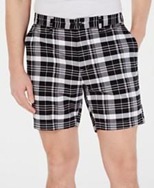 """Michael Kors Men's Plaid 7"""" Shorts"""