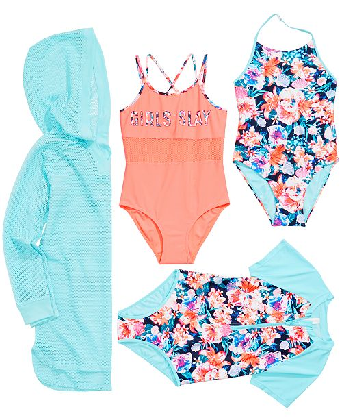 9b2f3c1be1a1a Ideology Big Girls Cover-Up and Swimsuit Mix and Match Separates, Created  for Macy's. Macy's / Kids ...