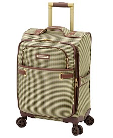 "London Fog Oxford II 20"" Softside Spinner Suitcase, Created for Macy's"