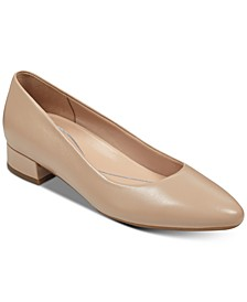 Caldise Block-Heel Pumps