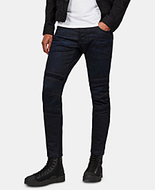 G-Star Raw Men's Slim-Fit Moto Jeans